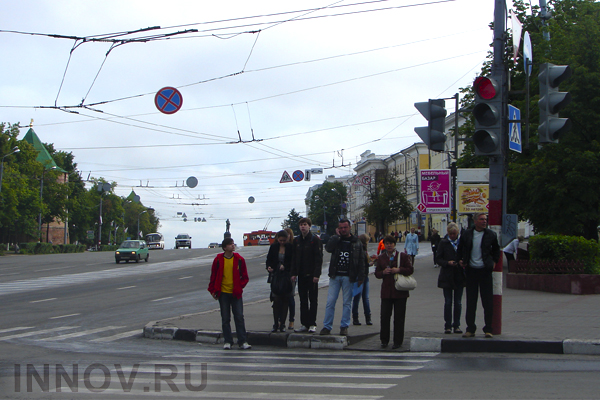 Special height puppets will appear bon crosswalks of Nizhny Novgorod, Russia