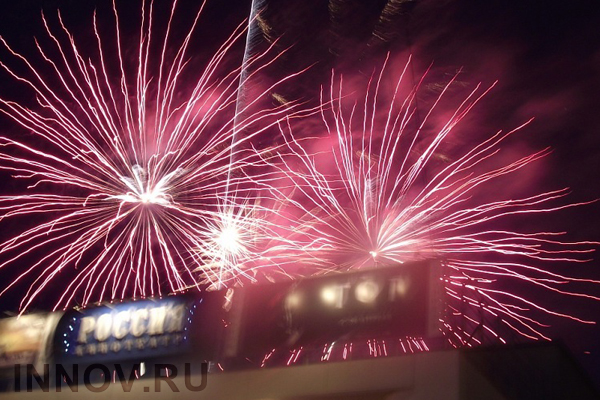Firework festival will take place on the 13th of September in Nizhny Novgorod, Russia