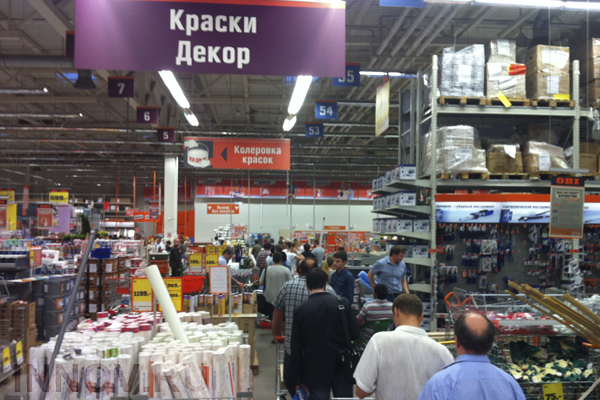 A Man from Izhevsk Was Arrested for Shooting in the Mall