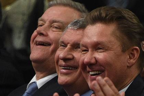 Sechin, Miler and Yakunin Salaries will not be Shown to the Public