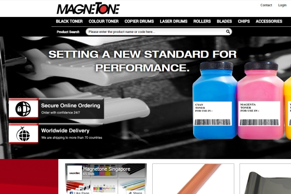 Magnetone Announces Launch of E-Commerce Store Offering Aftermarket Components for the Recycling of Laser and Copier Toner Cartridges, Drum Units and Fuser Assemblies