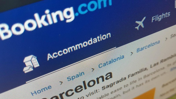 Booking.com reservations fall 40 percent in Q1