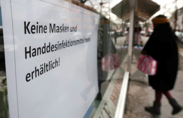 Germany establishes 500-billion fund to pump in ailing companies