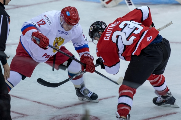 Russian International Youth Hockey Team won in International Super Series