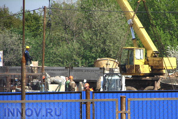 Construction Works of Stadium in Nizhny Novgorod Were Launched