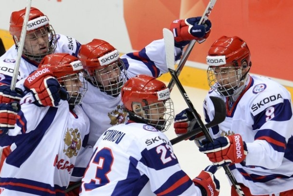 U18 Russian Hockey International Team smashed Mannheim Players