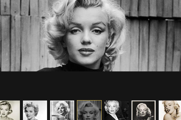 At an auction in China were presented items Marilyn Monroe