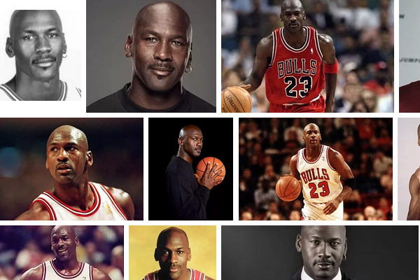 Michael Jordan is part of the world ranking of the best basketball players