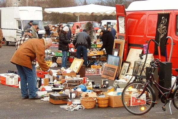 Official flee market will be opened in Nizhny Novgorod, Russia