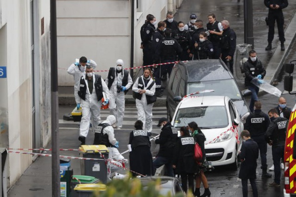 Attack on the former Charlie Hebdo office is an act of terrorism
