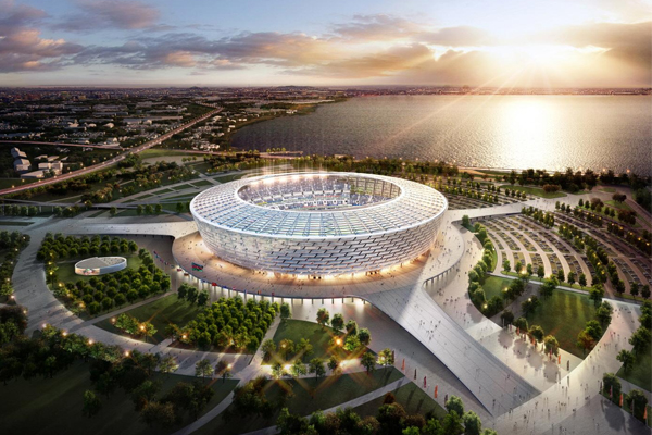 Russia: 3D model of Nizhniy Novgorod stadium was presented