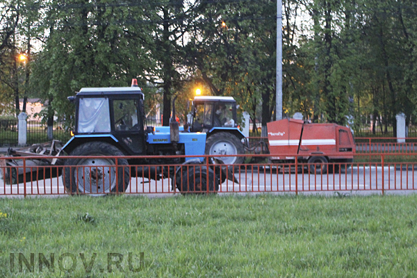 Road overhaul is 80% completed in Nizhny Novgorod, Russia
