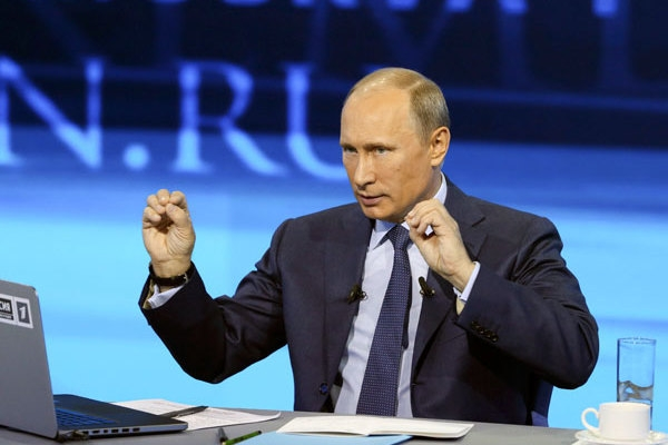 Russian Citizens can Ask Putin any Questions Directly via Special Hotline on April 9th