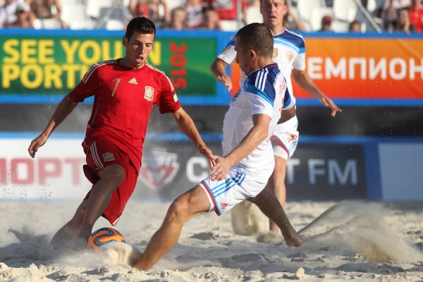 The Russian national team of beach soccer became the winner of the third stage of Euroleague